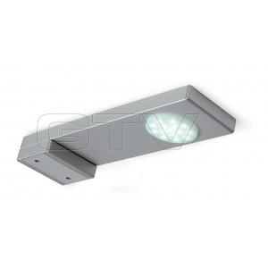LED LAMP VITORIA TOP CABINET, 218 MM, 1X15 DIODES,COLD WHITE, DC12V, ALUMINUM