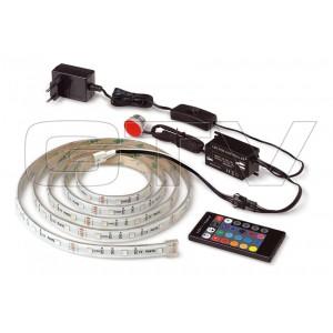 LED SET RGB, 2 M STRIPS RGB, POWER UNIT, PANEL, DU